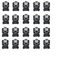 Effects 20pcs lot LED 60W Stained Beam Lamp 60WaHead Moving KTV Bar Cleaning Stage Lighting Heads