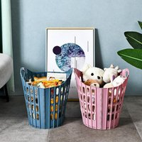 Laundry Bags Wall Mounted Basket Multi-function Folding Dirty Clothes Hamper Portable Durable Storage Bathroom Organizer