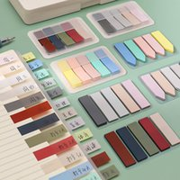 Bookmark 1@#KDD School Supplies Notes Memo Pad Paster Stickers Kawaii Candy Colored Stick Markers NoteBook Page Index Flag Sticky