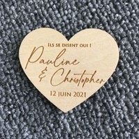 Wedding Gift Save The Date Magnets Wooden Use In Invitations Personalised Birthday Engraved Handmade Gifts Party Favor