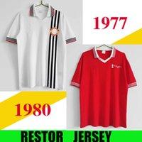 1977 1978 빈티지 축구 유니폼 클래식 Ronaldo Rooney Saha Coppell 레트로 77 78 맨체스터 홈 멀리 남성 축구 셔츠 Nani Man Utd Camiseta S-XXL