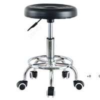Hydraulic Adjustable Salon Stool Swivel Rolling Tattoo Chair SPA Massage Commercial Furniture sea shipping DAT314