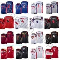 2021 Draft Pick Basketball 2 Cade Cunningham Jerseys Impreso 7 Jalen Green 4 Evan Mobley Scottie Barnes Blanco Blanco Gris Rojo Negro Venta al Por Mayor