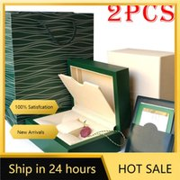 Watch Boxes & Cases Rolexables Top Luxury Mens Box Inner Outer Woman's Watches Men Wristwatch