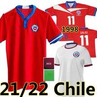 # 11 Salas 1998 Retro Chile Soccer Jerseys 21/22 Vidal Alexis Sanchez Felipe Mora Erick Pulgar Football Shirts Zamorano Neira Rozental Acuna Sierra Classic Uniform