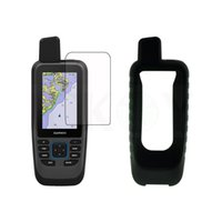 Bike Computers Protect Silicon Case Shield Film Screen Protector For Handheld GPS Garmin GPSMAP 86sc 86s 86 SC Accessories