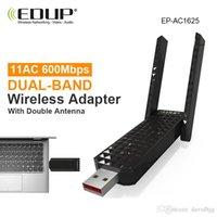 usb wifi adapter 600mbps EDUP wifi receiver antenna dual band wireless wi fi adapter 802.11ac wi-fi usb network card 5ghz