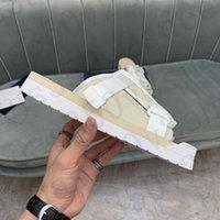 أحذية المشي المائلة الكلاسيكية إبزيم حزام النعال التنفس بحرية أبيض أسود التطريز الأحمر التطريز العلوي إيفا TPR وحيد حجم القابل للإزالة 38-44 #