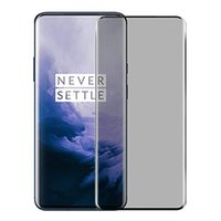 9D Full Coverage Privacy Tempered Glass Screen Protectors For OnePlus 7 Pro Anti-Spy Protective Glasse Film fit One Plus 7Pro