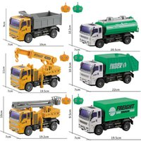 Electric / RC Carremote Control Engineer Engineer Control Simulation Electric Model Toy Make Fire Truck Crane Mixer