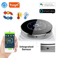 Smart Home Control TUYA App 2pipe Fan Coil Wifi Thermostat Temperature Controlled For Sensor NTC 10K Works With Alexa/Google Home/echo