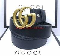 С коробкой и мешками для пыли G классические дизайнеры ремни Золотой серебряный мульти стиль для женщин мужской