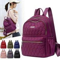 Vento Marea Travel Женская рюкзак повседневная водонепроницаемая молодежная леди сумка для женщин большой емкостью женские сумки на плечо красный рюкзак 210401