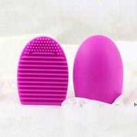 Hohe Qualität Andere Haushaltsunternehmen Ei Reinigungshandschuh Makeup Waschbürstenwaschbrett Kosmetisches Pinselegg Clean Tool dhe5838