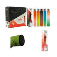 Ezzy Super 2In1 Kit de dispositivo desechable 2000 Batería de 900mAh 6.5ml Cartucho Vape Pen vs Bar Air Bar Lux Puff Bar más XXL Doble