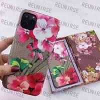 Luxus-PU-Leder-Telefon-Hülle für Apple iPhone 7 8 Plus-Präge-Muster iPhone X XR XS 11 12 13 Mini Pro Max Cover Case