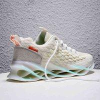 Nowe amortyzujące męskie trampki Hollow Podeszwy ostrze Buty do biegania dla mężczyzn Dorosłych butów sportowych Outdoors sportowe trening jogging buty