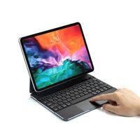 الملونة الخلفية لوحة المفاتيح 360 درجة دوران الذكية التفاعل اللاسلكية بلوتوث ماجيك لوحة المفاتيح ل ipad2018 وأعلى جودة عالية مصنع بيع مباشرة