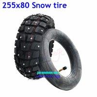 Мотоциклетные колеса шины высокое качество 10 дюймов износостойкие зимние снежные шины 255x80 бездорожья внешняя для Kugoo M4 Pro, ноль 10x Kaabo Mantis