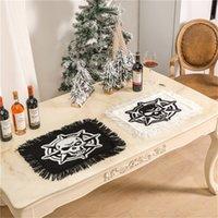 Tappetini da tavola del tastoni lavabili resistenti al calore resistente al calore di Halloween tappetini per la decorazione da pranzo da cucina 56cmx45cm KDJK2107