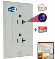 2020 Sıcak HD Mikro Temizlikçi ve Dadı Kamera 1080 P WIFI Soket Duvar Gücü Soketi