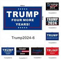 Trump 2024 bandeiras eleitoras mulheres para trunfo 3x5 pés 100d poliéster 150x90cm banner para bandeiras eleitorais presidenciais DHL rápido