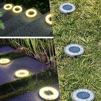 PCS LED Güneş Işıkları Açık Alevler Torch Yolu Aydınlatma Torçları Su Geçirmez Lamba Bahçe Işık Dekorasyon Süslemeleri