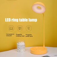 Table Lamps LED Eye Protection Lamp Rechargeable Reading Clip Bedside Dormitory USB Learning Desktop Study