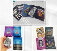 3.5g mylar Edibles bags KUSH Nate robinson cali packs packing ziplock CEREAL KILLER LA CAKE YORK EXOTICS exotic packaging