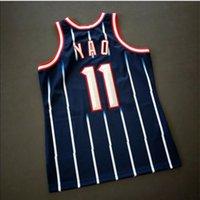 Özel 009 Gençlik Kadınlar Vintage Yao Ming Mitchell Ness 02 03 Koleji Basketbol Forması Boyutu S-4XL veya özel herhangi bir isim veya numara forma