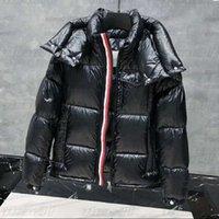 أزياء رجالي الشتاء أسفل سترة معطف مصمم إمرأة أسفل سترة مبطن سترة سوداء زوجين سميكة الدافئة الشتاء قميص