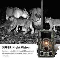 사냥 트레일 카메라 야생 동물 카메라 셀룰러 모바일 무선 감시 HC801M 16MP 1080P 야간 투시경 추적
