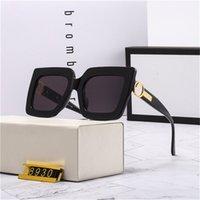 الكلاسيكية جولة نظارات العلامة التجارية تصميم UV400 نظارات معدنية الذهب إطار نظارات الشمس الرجال النساء مرآة 3447 نظارات شمسية بولارويد زجاج عدسة