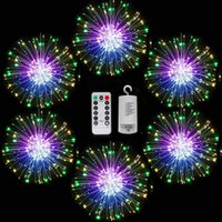 Firework Lights,Led String Light 8 Mode Waterproof with Remote Control 120 150 LEDs Fairy Lamp for Holiday Garden Christmas Wedding