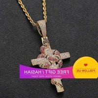 Missfox Men Fashion Jewels Black Gold Crosses Snake Luxury Trend Neck Hangers Jewerly Maken Delivers New Arrival