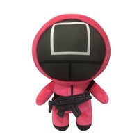 Squid Game Plush Toy Stuffed Dolls Doll Korean TV Mask Man Figure Cute Soft Toys Home Decoration Christmas Gift for Kids
