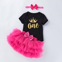 Clothing Sets Dress For Girl Baby Christening Gown Outfits First 1st Birthday Party Toddler Clothes Vestido Infantil