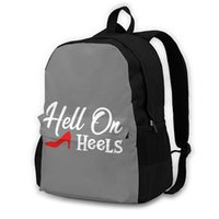 Sırt Çantası Cehennem Kız Sırt Çantaları Hafif Eğlence Polyester Seyahat Gençlik Çantaları