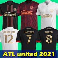 2021 Atlanta United Fussball Jersey Erwachsener Mann Martinez Football Hemd Barco Camiseta de Futbol Atl Maillot Kit