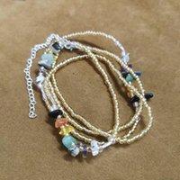 Correias Irregular Natural Clear pedra grânulos para jóias linda decoração fazendo chip diy cintura cadeia atacado