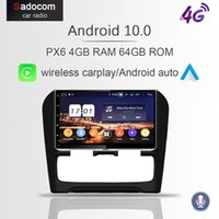 Joueur IPS Carplay PX6 DSP Android 10 Voiture DVD 4GB + 128g GPS RDS RDS WiFi Bluetooth 5.0 pour C4 2012 2013 2014