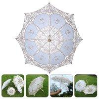 Fans & Parasols Vintage Lace Umbrella Wedding Party Decoration Po Prop Lady Costume