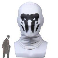 Rorschach Mask Halloween Inkblot Masks Watchmen Costume Cosplay Masques Anime Mascarillas Superhero Face Mascaras Party Props H0910