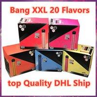 Одноразовые E-Cigarettes Bangpuff XXL 48 Цветное устройство 1600 + Bang Bar Plus Xtra E CiGarette Vape Pen 6.5 мл предварительно заполнены