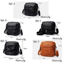 Louis Vutton BagRetro Solid Color Leather Crossbody Shoulder Bags for Women 2021 Designer High Quality Casual Female Messenger Bag Sac EpauleAndd1y_top