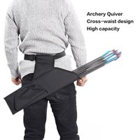 Stuff Sacks Oxford Cloth Waist Cross Quiver Black Camouflage Color Outdoor ry Composite Recurve Bow And Arrow General Purpose X400A