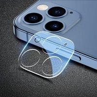 Obiettivo della fotocamera Indietro 2.5D Protezione schermo in vetro temperato 9H Pellicola Guardia del layer Guard Esplosione Copertura Copertura curva Scudo per iPhone 13 Pro max 12 mini 11