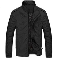 Men's Suits & Blazers New Fashion Casual Solid Slim Bomber Jacket Overcoat Arrival Baseball s M-6XL Top 917D