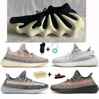 450 scarpe cloud white triple black v2 enflame 700 500 cinder terra esercito verde coda leggera flax s scarpe da ginnastica da corsa
