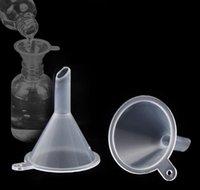 أدوات أخرى مطبخ المنزل حديقة قطرة التسليم 2021 شفاف مصغرة البلاستيك القمعات الصغيرة لكل سائل الضروري النفط ملء قمع المطبخ بار